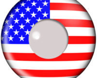 American Flag Contacts