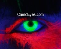 UV Glow Green Contacts