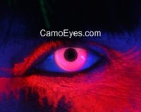 Pink UV Glow Contacts