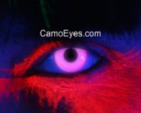 Violet UV Glow Contacts